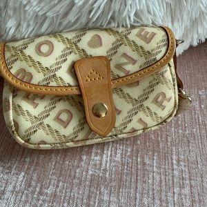 Dooney & Burke makeup bag or clutch